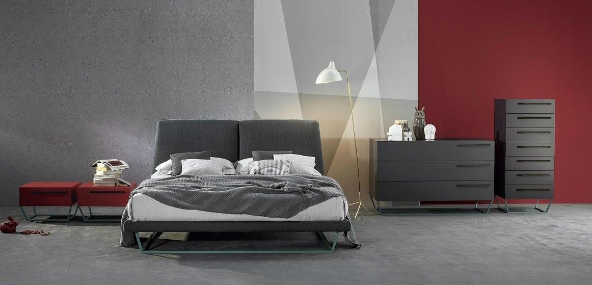מיטה זוגית מעוצבת Amlet