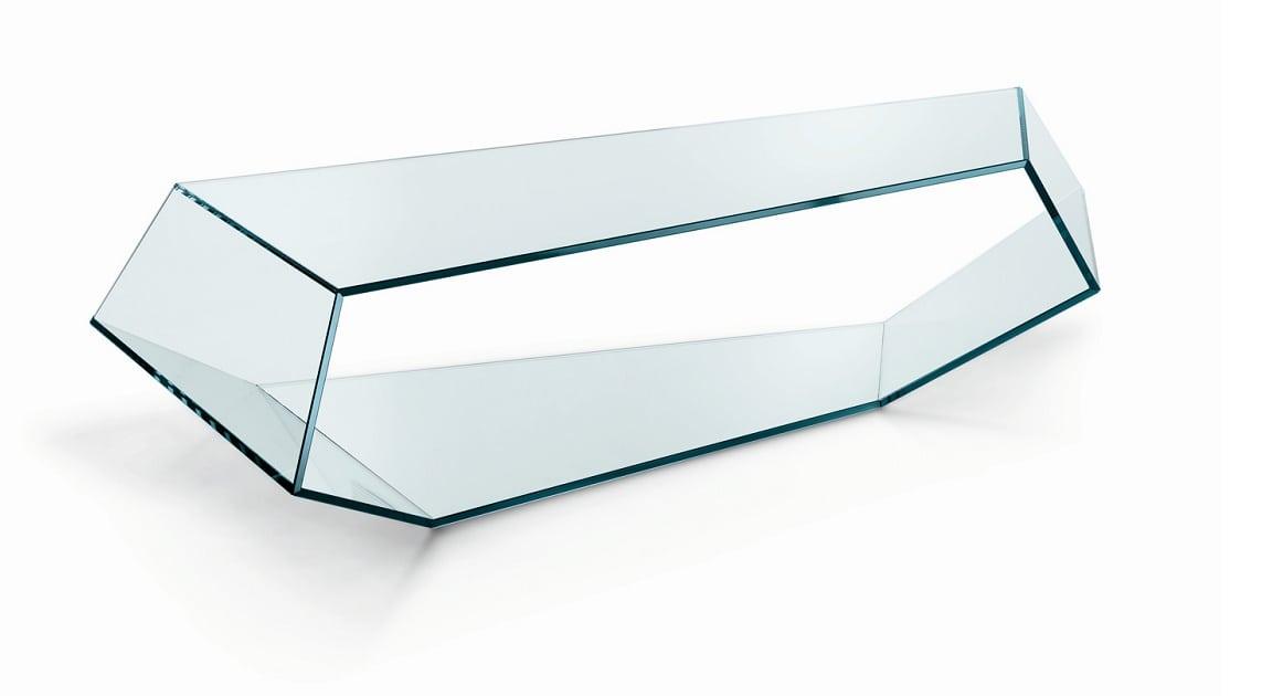 שולחן סלון מזכוכית Dekon