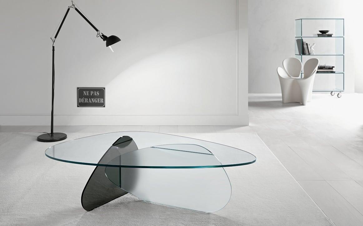 שולחן קפה מזכוכית - KAT