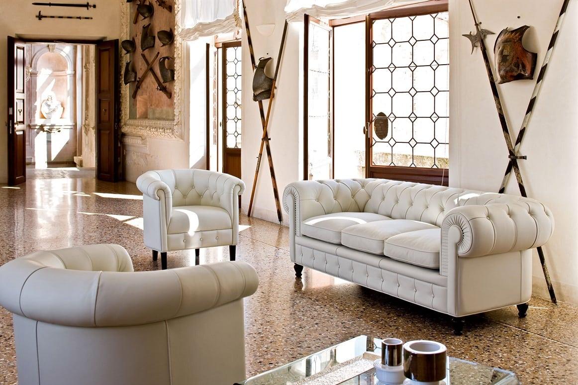 ספה איטלקית קלאסית מדגם Chester