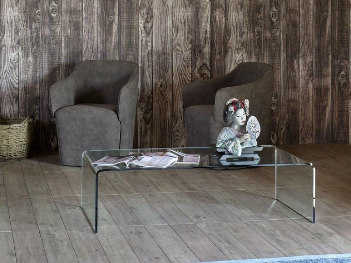שולחן קפה מזכוכית