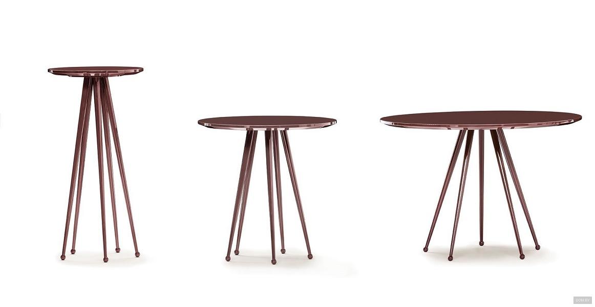 שולחן קפה עגול - צבעים נוספים