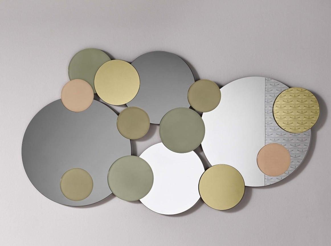 atomic - מראה בגווני זהב וברונזה