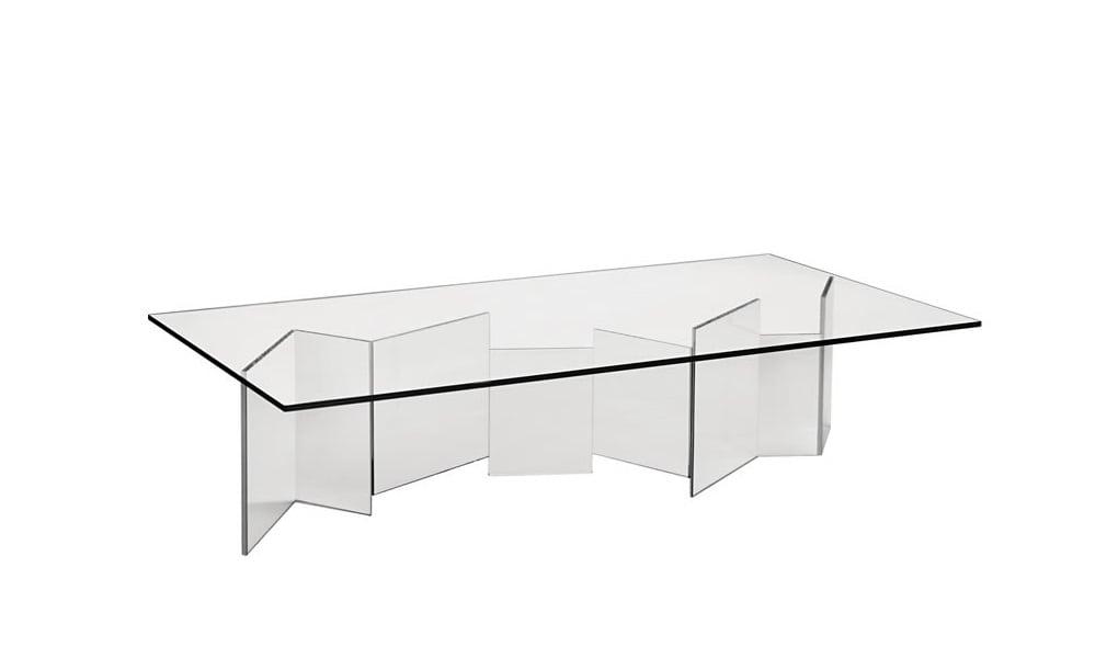 שולחן קפה מזכוכית - Metropolis
